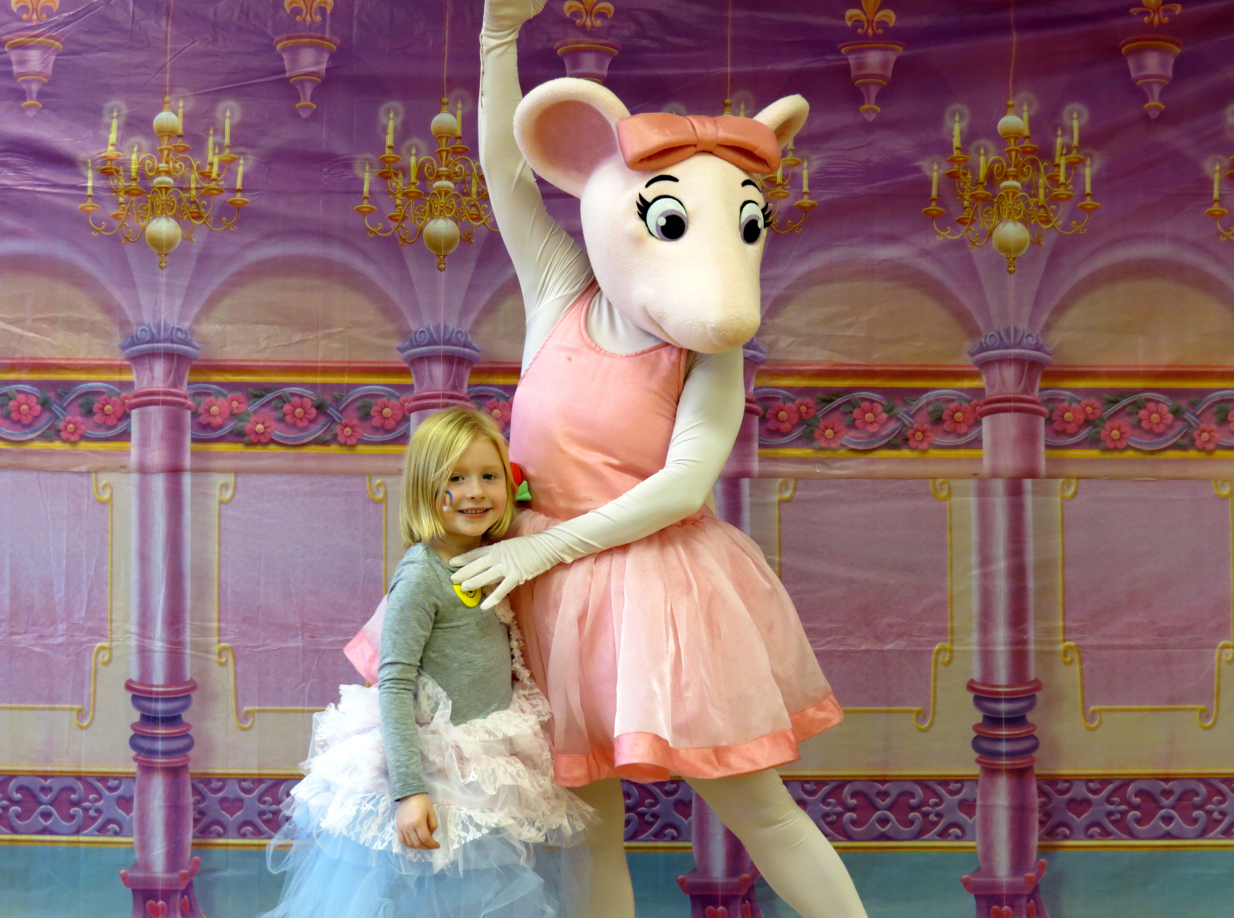 It's just a picture of Fan Angelina Ballerina Characters