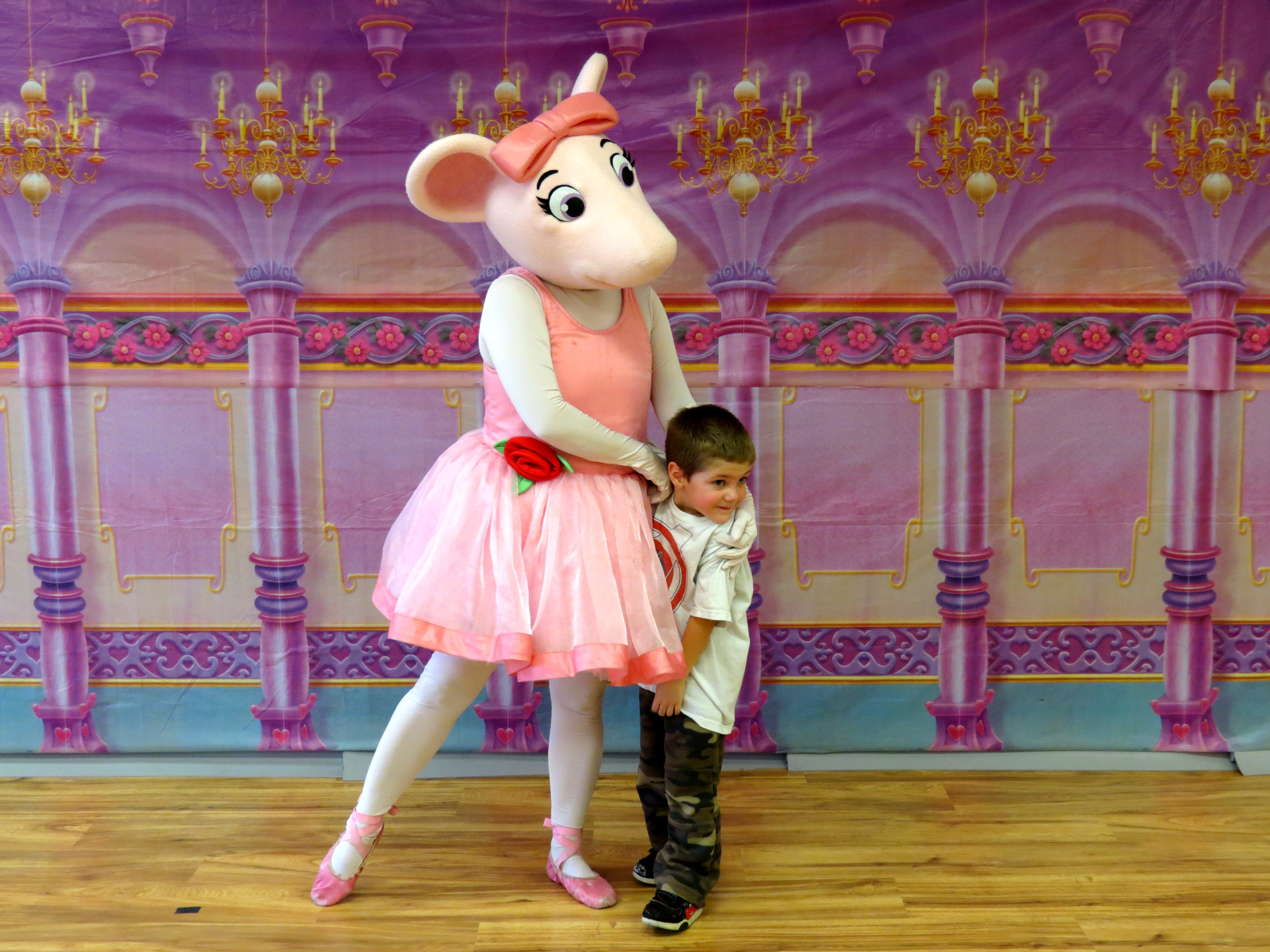 It's just an image of Sweet Angelina Ballerina Characters